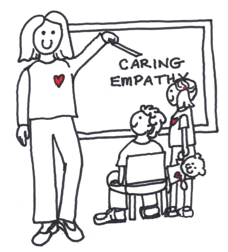 Teaching Caring Illust 001