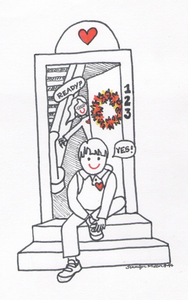 Ready for school illustration by Jennifer Miller