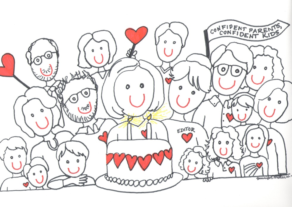 CPCK Two Year Blog-iversary Illustration by Jennifer Miller