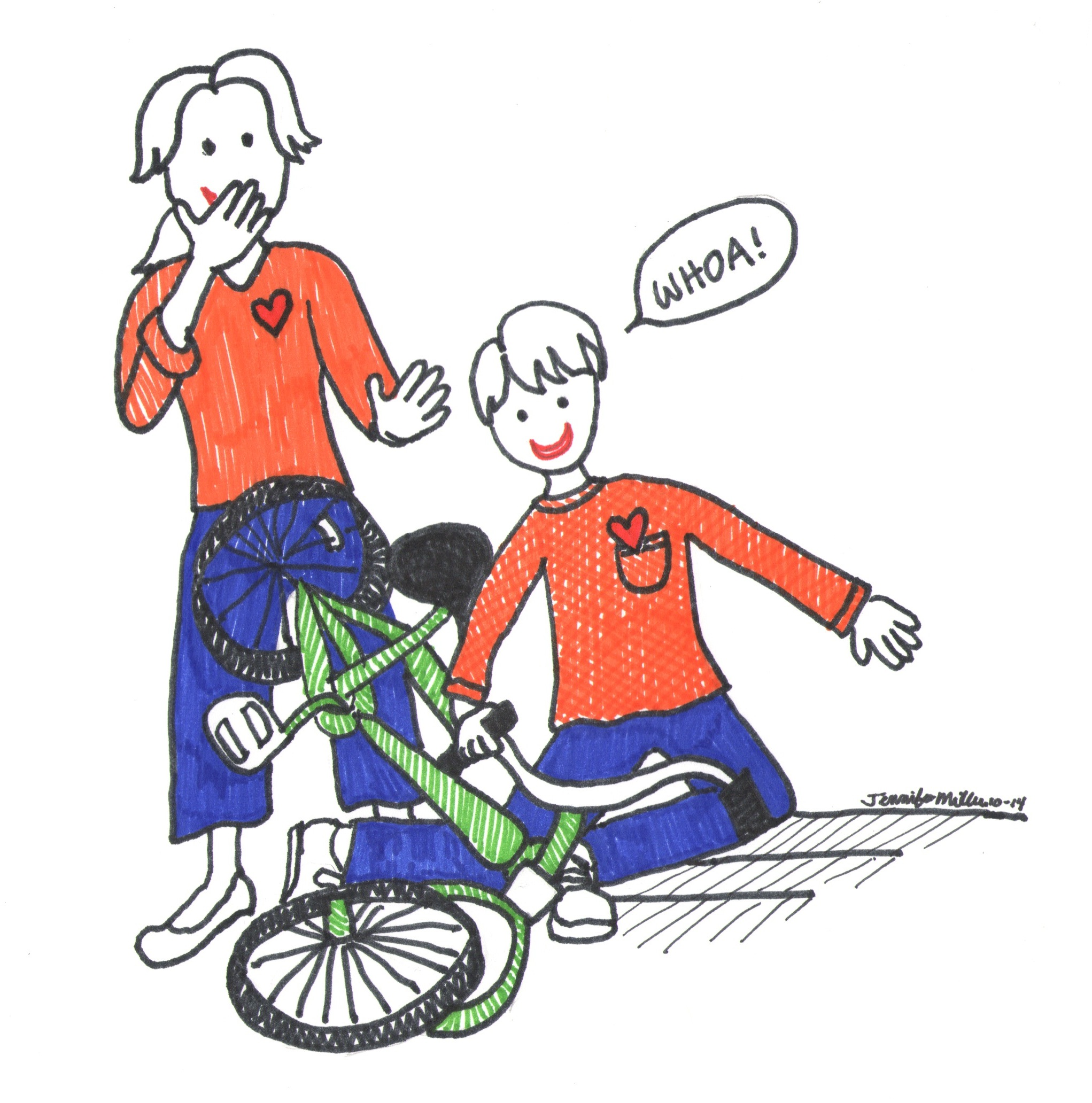 essay on learning to ride a bike My horrible experience of learning how to ride a bike essay 1645 words | 7 pages was only ten years old when i began learning how to ride a bike which wasn't easy.
