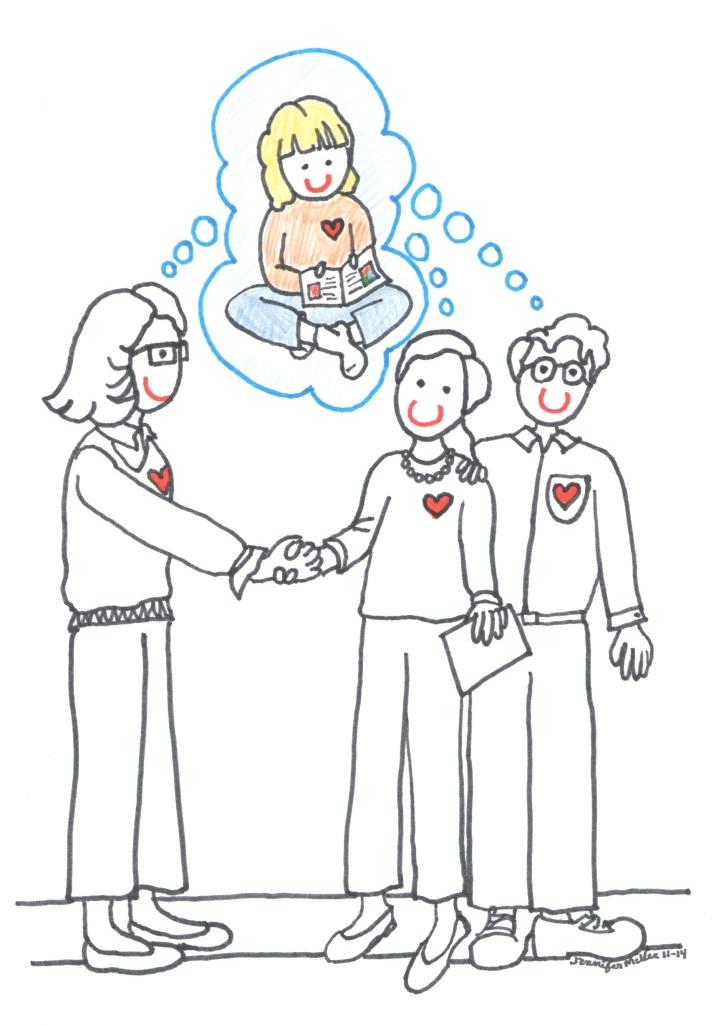 Parent Teacher Conferences 2 Illustration by Jennifer Miller