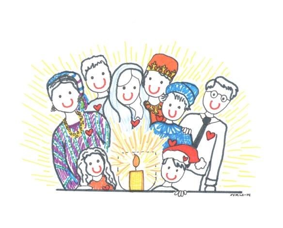 Celebrating the Solstice 2014 illust by Jennifer Miller 1