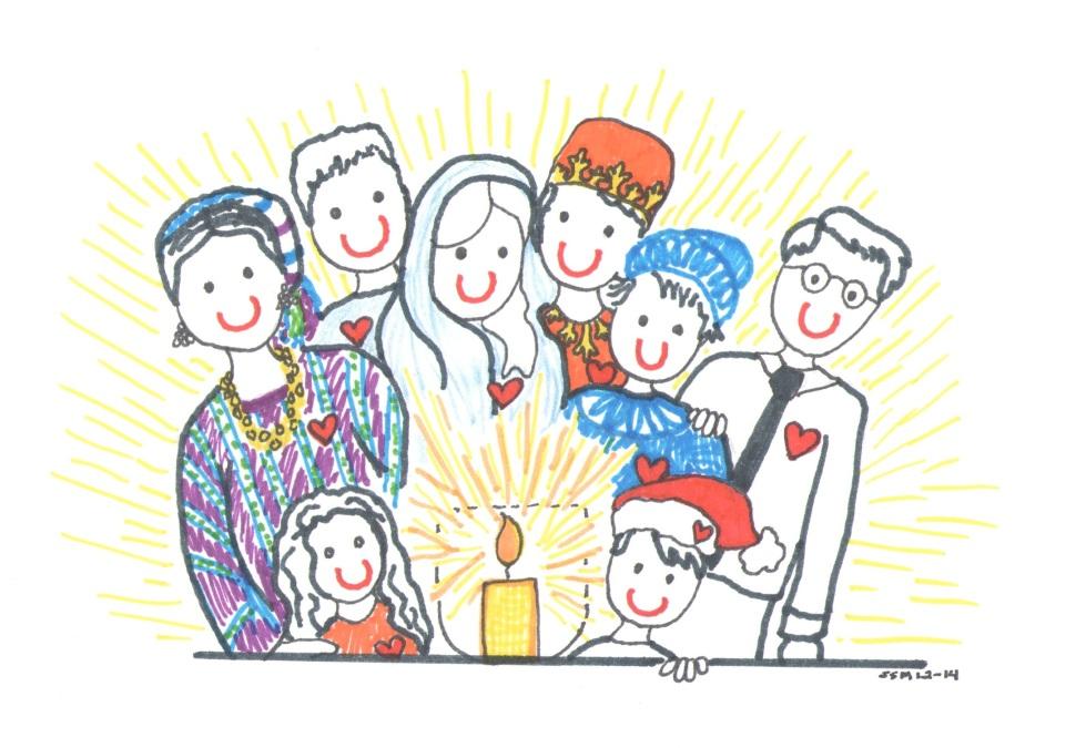 Celebrating the Solstice 2014 illust by Jennifer Miller
