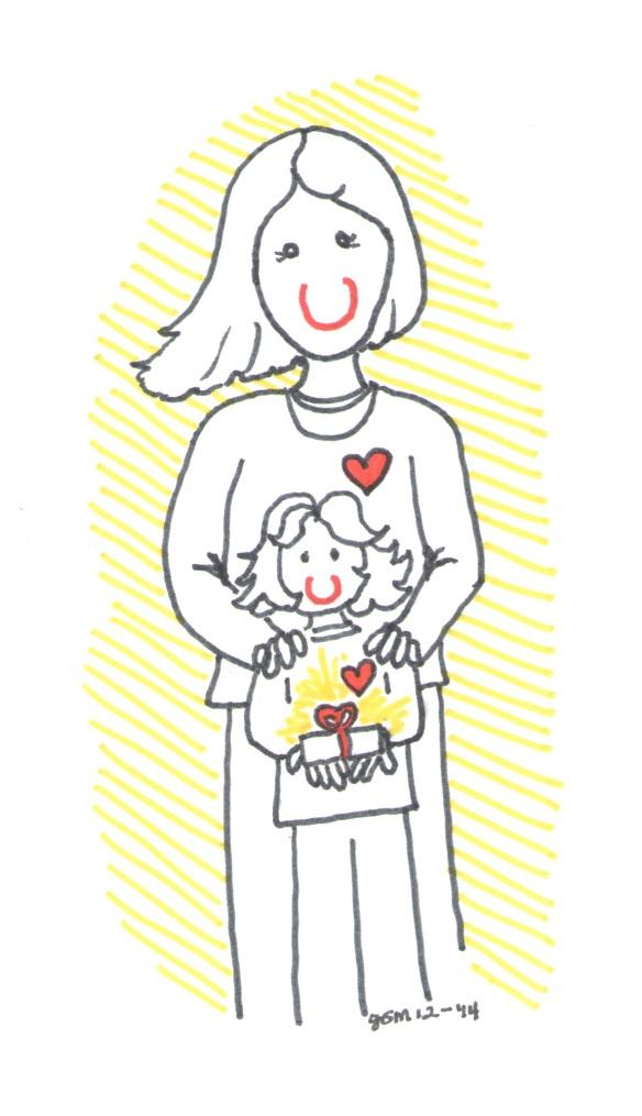 Giving from the Heart 2014 illust by Jennifer Miller