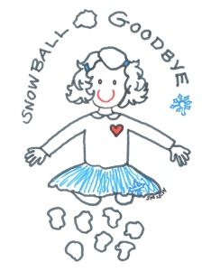 Snowball Goodbye 2014 illust by Jennifer Miller 1