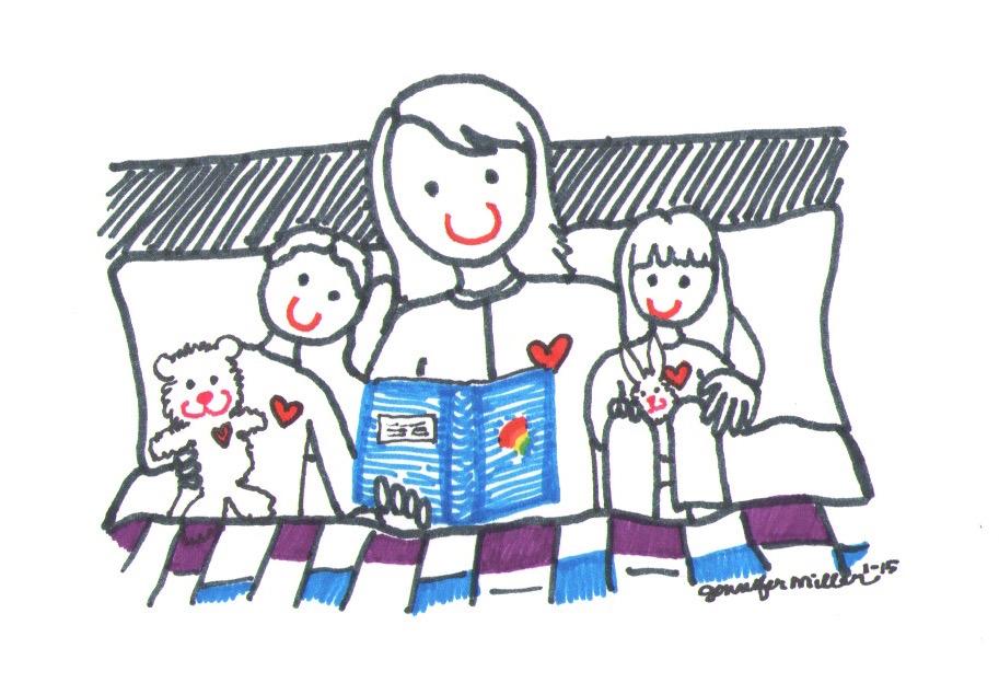 Bedtime 2 by Jennifer Miller