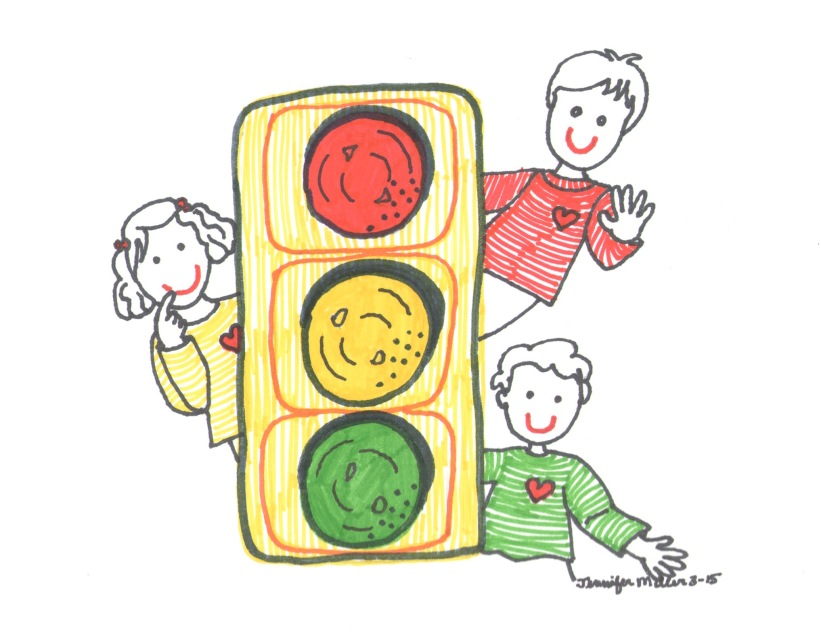 Traffic Light by Jennifer Miller