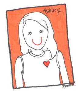 Ashley, CPCK Intern by Jennifer Miller