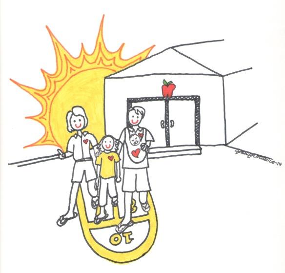 sun and school by Jennifer Miller