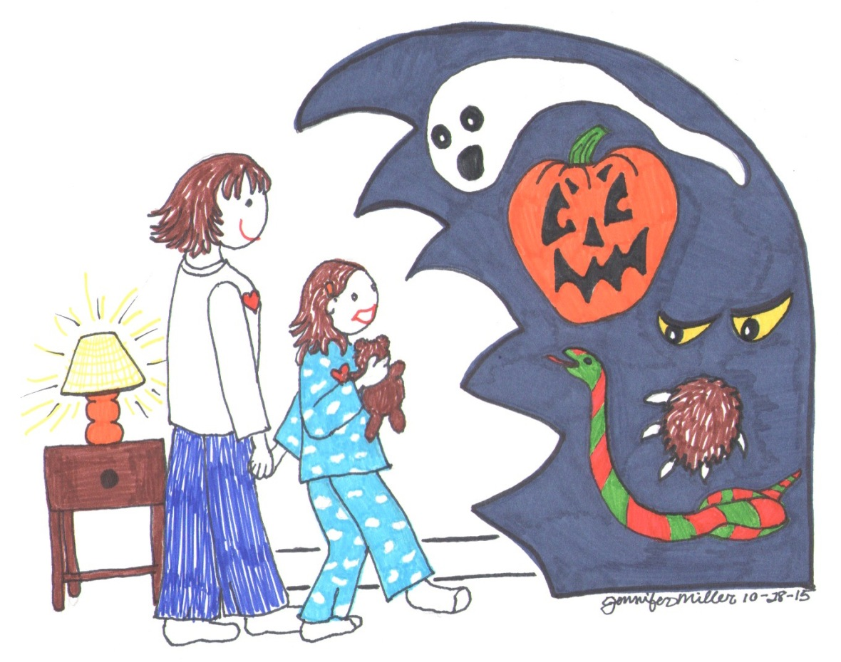 Helping Kids Deal with their Fears by Jennifer Miller