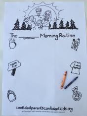 MorningRoutinePoster
