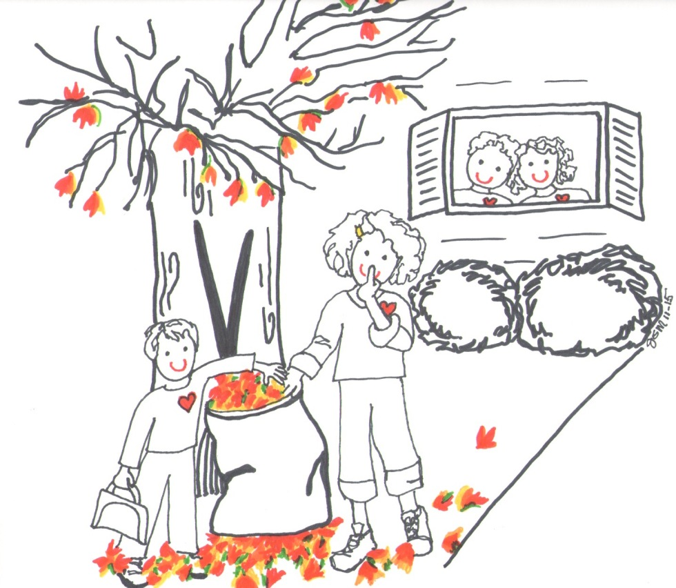 Raking Fall Leaves for Parents by Jennifer Miller
