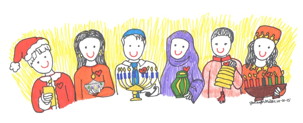 Children Celebrating Around the World by Jennifer Miller