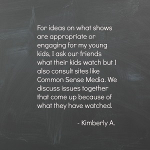Kimberly A on Media