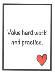 value-hard-work-and-practice-card-by-jennifer-miller